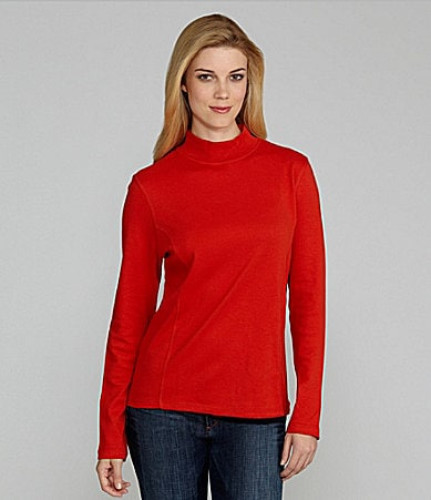 Westbound Princess Seam Mockneck Top