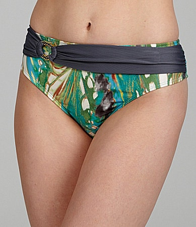 Antonio Melani Swim Butterfly Sash-Waist Bottom