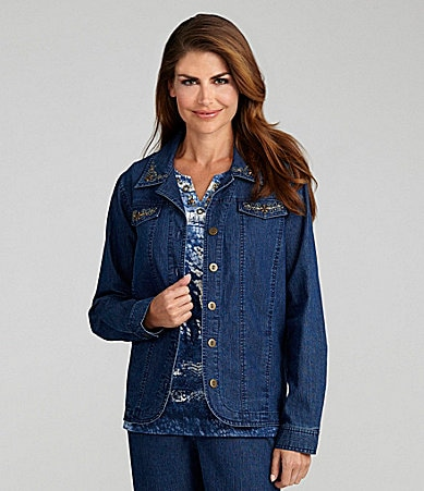 Samantha Grey Denim Jacket