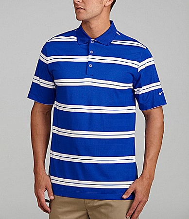 Nike Golf Bold Stripe Polo Shirt