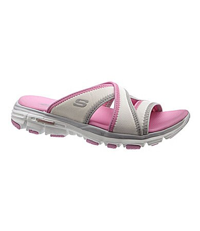 Skechers Women�s Outshine Slip-On Sandals