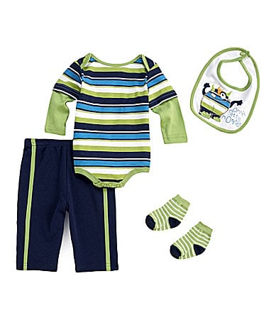 Starting Out Newborn Mommy�s Little Monster 4-Piece Set