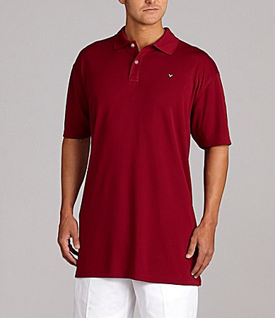 Callaway Big & Tall Textured Polo Shirt