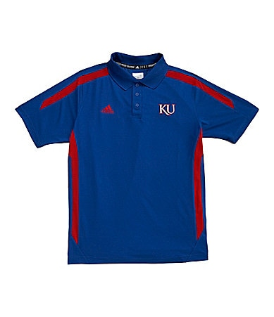 Adidas University of Kansas Sideline Polo Shirt