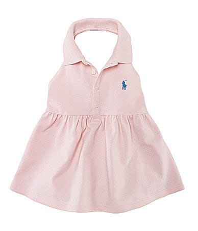 Ralph Lauren Childrenswear 2T-6X Mesh Polo Halter Top