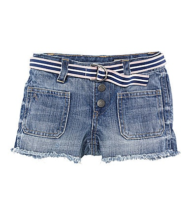 Ralph Lauren Childrenswear 2T-6X Denim Cut-Off Shorts