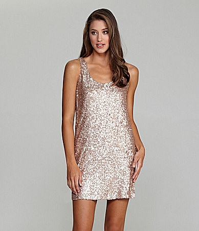 French Connection Sleeveless Sequin Dress