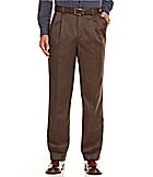 Roundtree & Yorke Classic-Fit Pleated Ultimate Expander Trav