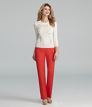 Antonio Melani Madison Sweater & Minnie Straight-Leg Pants