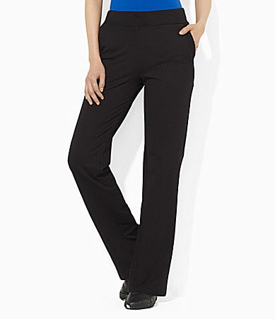 Lauren Active Straight-Leg Spa Pants