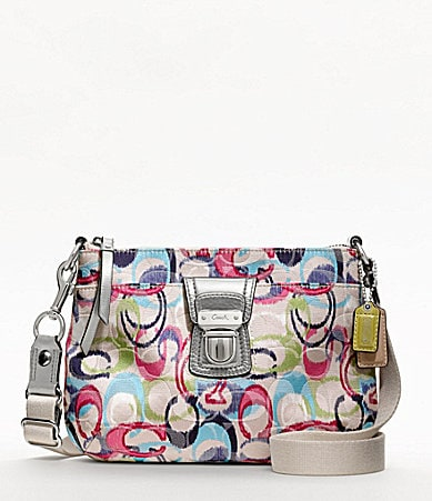 COACH POPPY IKAT SWINGPACK