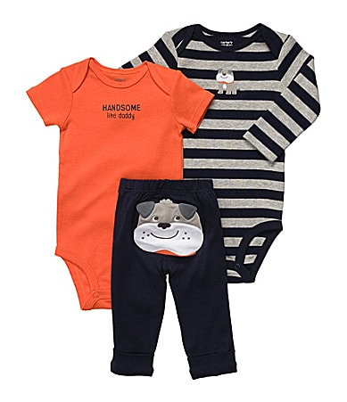 Carter�s Newborn Puppy 3-Piece Bodysuit Set