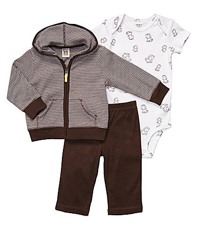 Carter�s Newborn 3-Piece Hooded Sweater Set