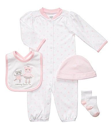 Carter�s Newborn Ballerina 4-Piece Sleeper Set