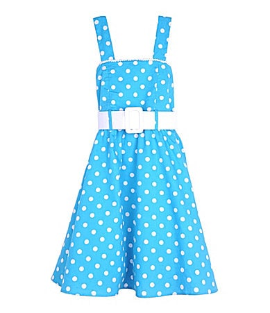 Zunie 7-16 Polka Dot Woven Dress