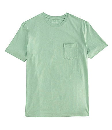 Roundtree & Yorke Big & Tall Solid Jersey Pocket Tee