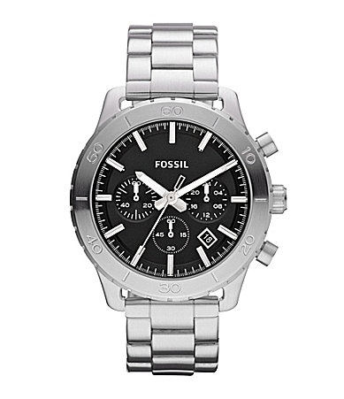 Fossil Men�s Keaton Stainless Steel Watch