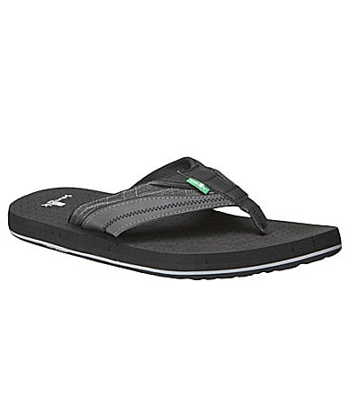 Sanuk Men�s BLVD Thong Sandals