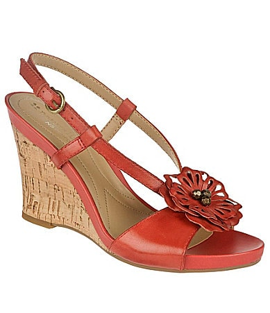 Naturalizer Bee Wedge Sandals
