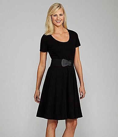 Peter Nygard Belted Swing Dress