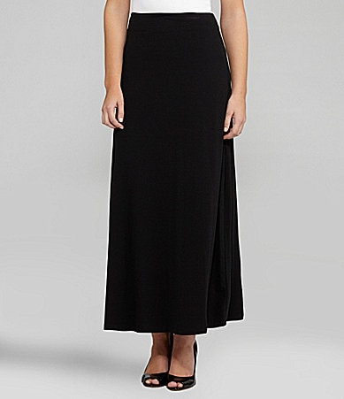 Peter Nygard Long Knit Maxi Skirt