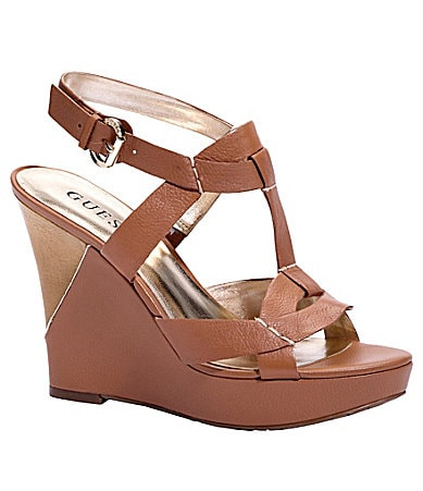 Guess Yakima Wedge Sandals