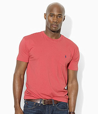 Polo Ralph Lauren Big & Tall Classic-Fit Short-Sleeved Cotton Pocket T-Shirt