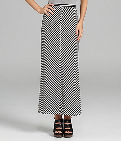 M.S.S.P. Striped Maxi Skirt