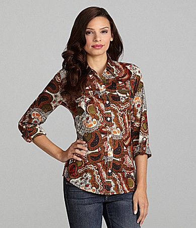 Lucky Brand Jeans Jane Paseo Blouse