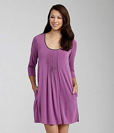 DKNY Seven Easy Pieces Heather Purple Sleepshirt