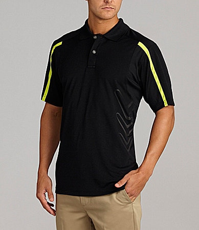 Callaway Contrast Stripe Bodymapping Polo Shirt