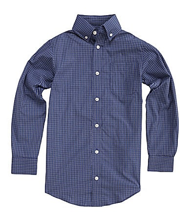 Class Club 8-20 Checked Dress Shirt