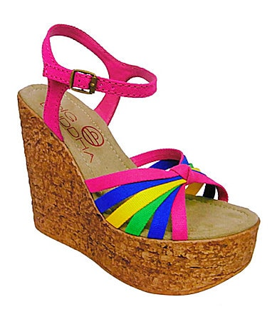 Big Buddha Mojo Wedge Sandals