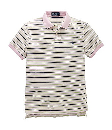 Polo Ralph Lauren Big & Tall Classic-Fit Striped Cotton Jersey Polo