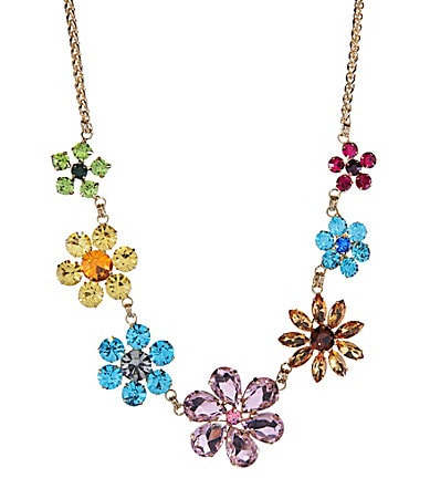 Cezanne Garden Party Flower Statement Necklace