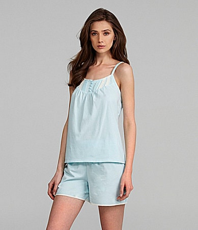 Sleep Sense Smocked Tank & Sleep Shorts