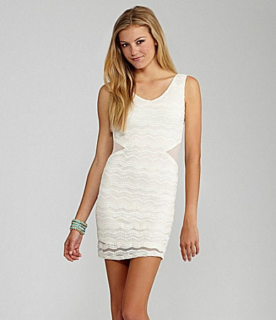 GB Banded Lace Dress