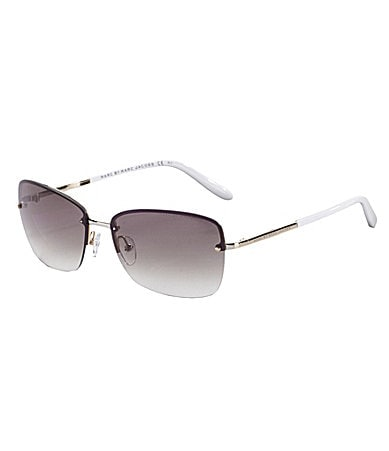 Marc by Marc Jacobs Rimless Metal Sunglasses