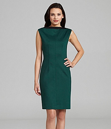 T Tahari Libby Ponte Knit Dress