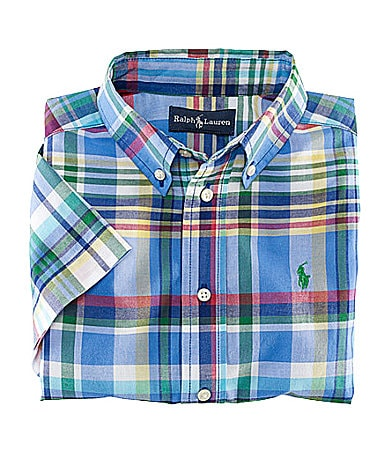 Ralph Lauren Childrenswear 2T-7 Blake Plaid Shirt