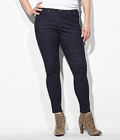 Levi�s Plus Denim Leggings