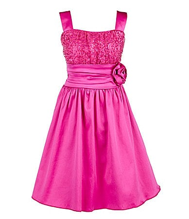 Ruby Rox 7-16 Sequin Emma-Bodice Dress