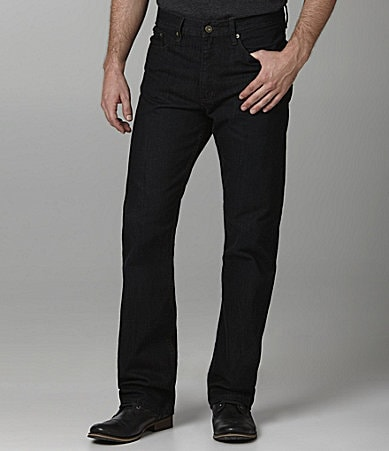 Perry Ellis Big & Tall Relaxed-Fit Dark Rinse Jeans