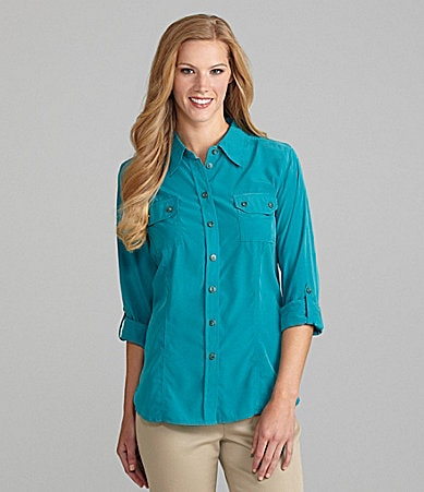 TanJay Collared Chest-Pocket Shirt