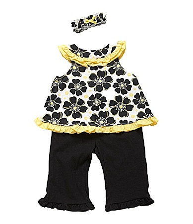Starting Out Infant Floral 3-Piece Set