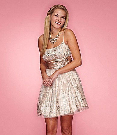 B.Darlin Glitter Dress