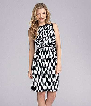 Preston & York Flora Tribal-Print Dress