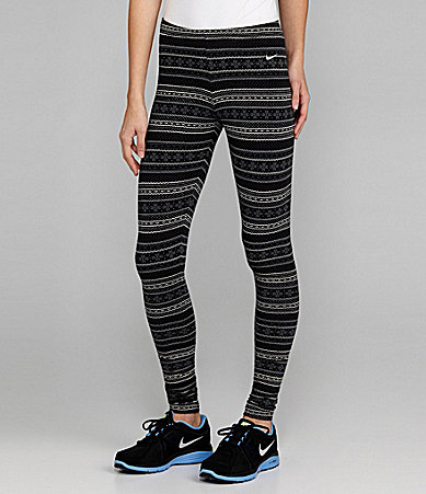 Nike Squad Fair Isle Running Leggings