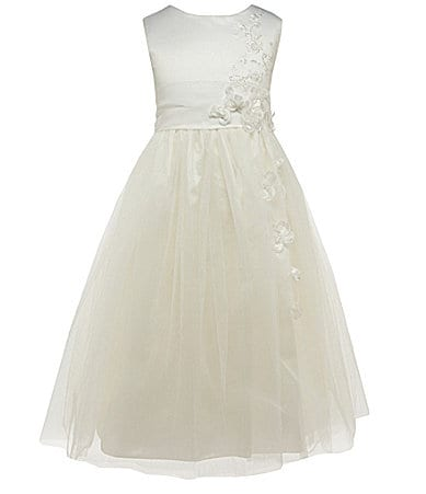 Jayne Copeland 7-12 Satin/Tulle Dress