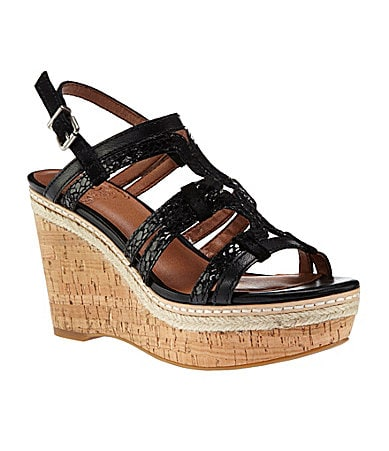 Lucky Brand Keena Wedge Sandals